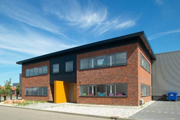 4 bedrijfsruimten met kantoren Papland Gorinchem