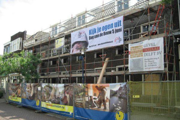 Appartementen vm Stadsarmenschool Schiedam