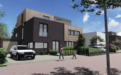Bouw 4 nieuwe woningen Kornelis van Tollaan te Rotterdam