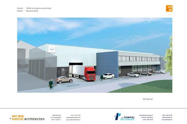 Herbouw bedrijfscomplex TIO B.V.